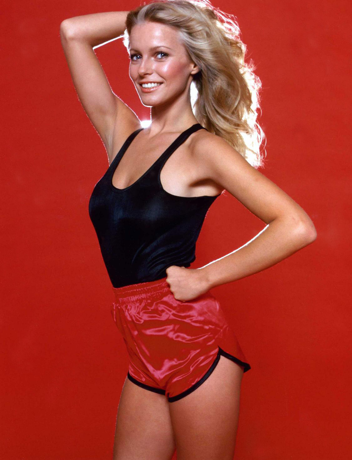 Cheryl Ladd- I actually own shorts like this, and it's her fault.